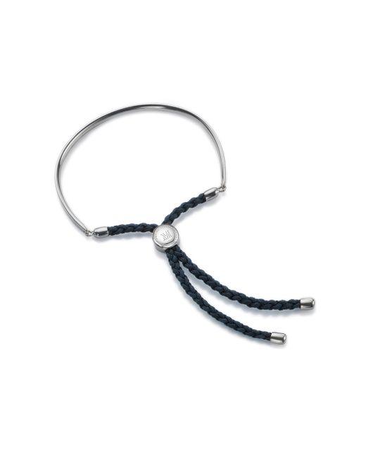 Monica Vinader - Blue Fiji Friendship Petite Bracelet - Lyst