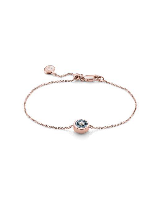 Monica Vinader - Multicolor Evil Eye Chain Bracelet - Lyst