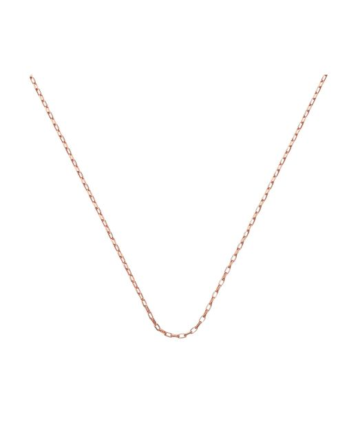 "Monica Vinader - Metallic Fine Open Link Chain 20""/51cm - Lyst"