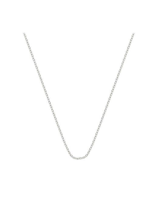 """Monica Vinader - Metallic Rolo Chain 24""""/61cm With Adjuster - Lyst"""