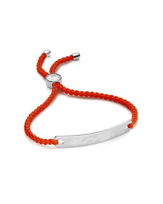 Monica Vinader - Red Havana Friendship Bracelet - Lyst