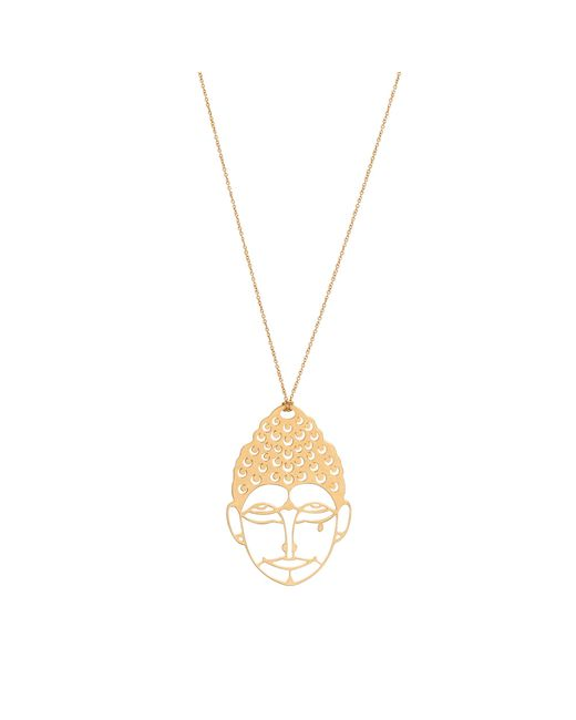 Ginette NY | Green Medium Buddah Necklace | Lyst