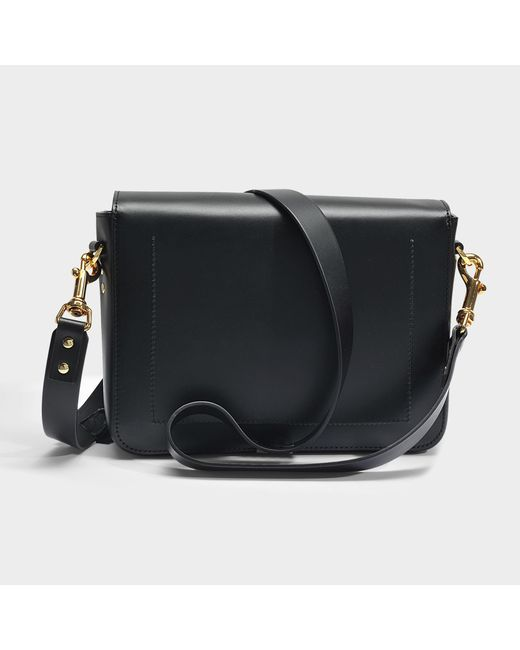 The Quick Large Bag in Black Cow Leather Sophie Hulme hHMvq