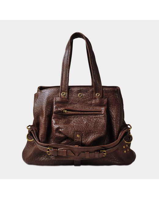 Jérôme Dreyfuss - Brown Billy M In Bubble Leather - Lyst