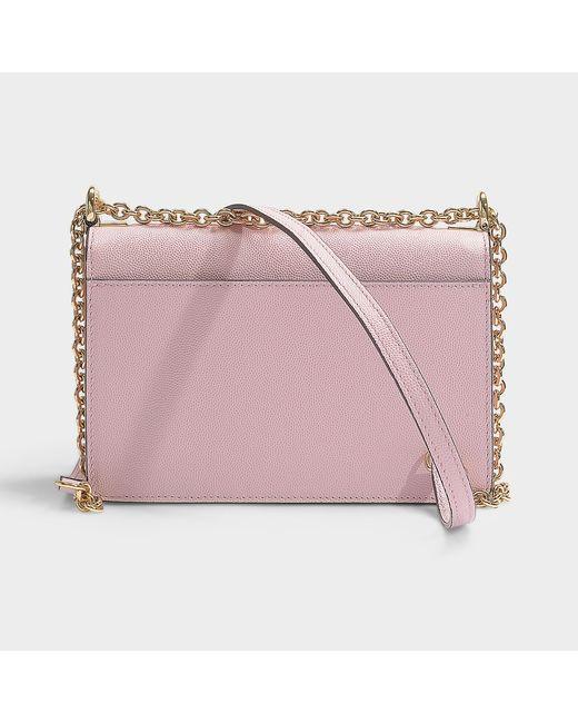 Lyst - Furla Mimi  Mini Crossbody Bag In Pink Calfskin in Pink - Save 5% 73043aad40be9