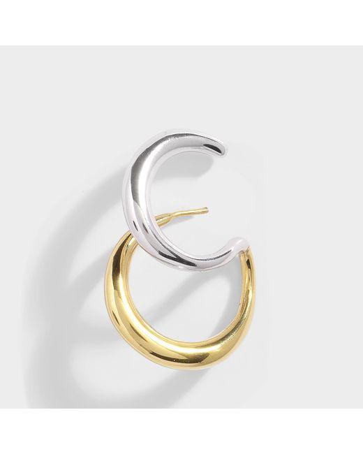 Charlotte Chesnais - Metallic Curl Mono Earring - Lyst
