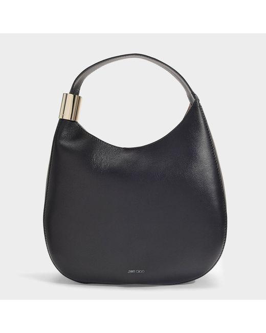 62f1aa974e9 Lyst - Jimmy Choo Stevie Bag In Black Nappa Leather in Black