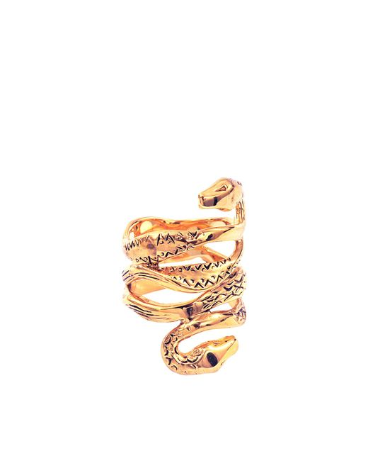Aurelie Bidermann - Metallic Mamba Ring - Lyst