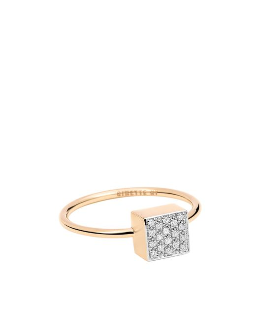 Ginette NY - Multicolor Baby Diamond Ever Square Ring - Lyst