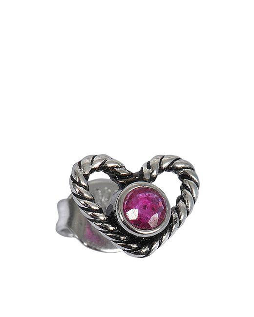 Marc Jacobs - Multicolor Rope Heart Single Stud - Lyst