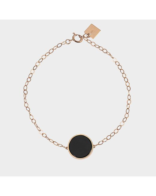 Ginette NY - Multicolor Ever Onyx Disc Bracelet - Lyst