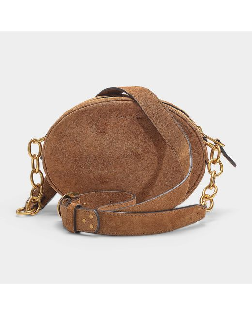 6065facc5300 ... Polo Ralph Lauren - Gilly Bag In Brown Suede - Lyst ...