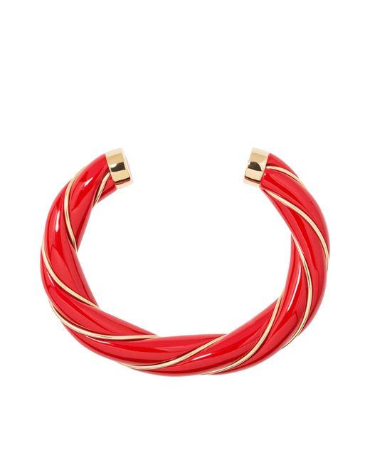 Aurelie Bidermann - Red Diana Twisted Bracelet - Lyst