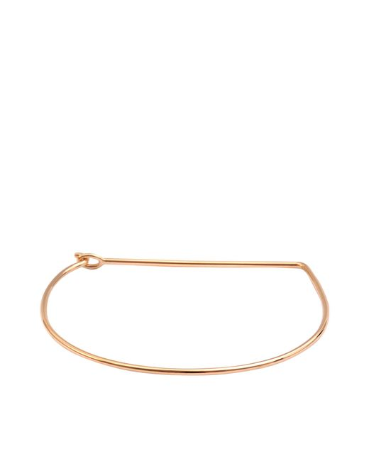 Ginette NY | Metallic Arc Bangle | Lyst