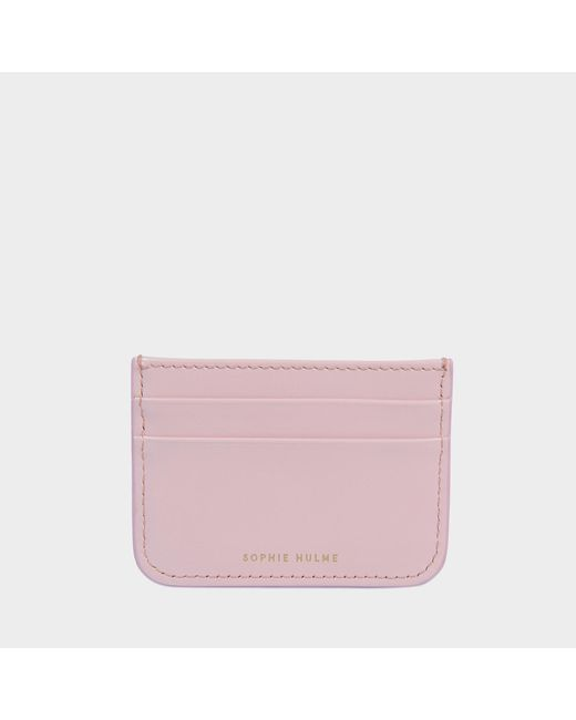 Sophie Hulme - Pink Card Holder With Charm - Lyst