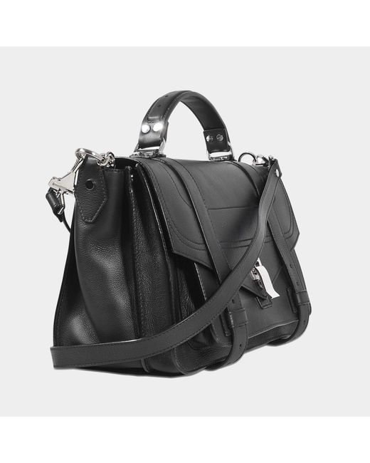 Proenza Schouler Sac PS1 Medium + en cuir grainé 3wols8