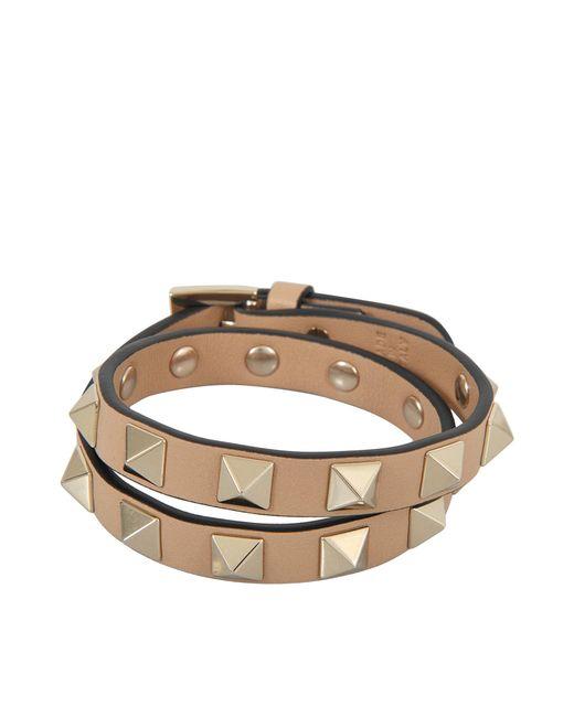 Valentino | Multicolor Rockstud Choker And Double Bracelet | Lyst