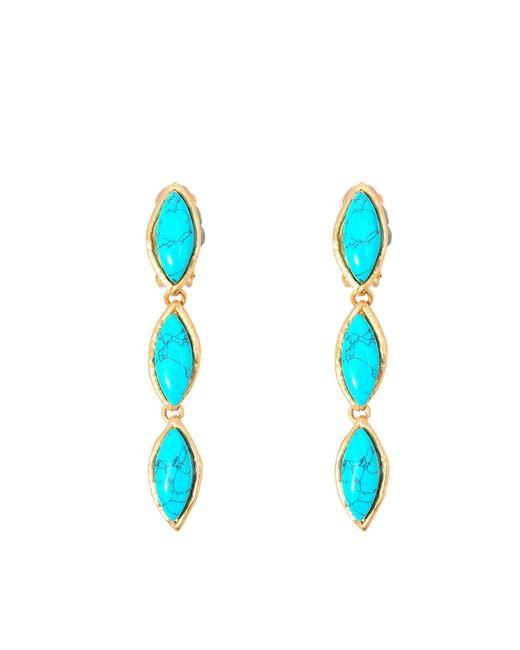Sylvia Toledano   Blue Sweetie Or Earrings   Lyst