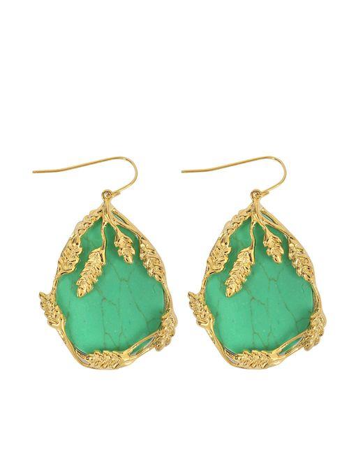 Aurelie Bidermann | Green Francoise Pendant Earrings | Lyst