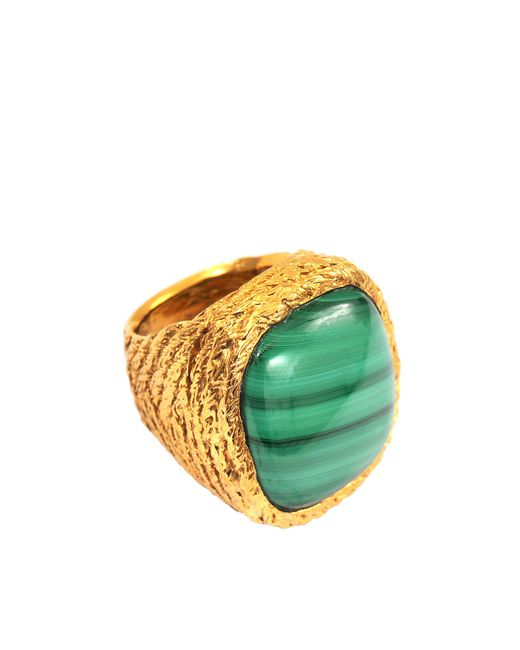 Aurelie Bidermann | Green Miki Malachite Ring | Lyst