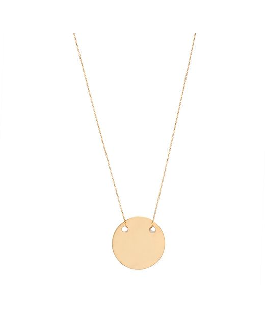Ginette NY | Metallic Baby Disc Necklace | Lyst