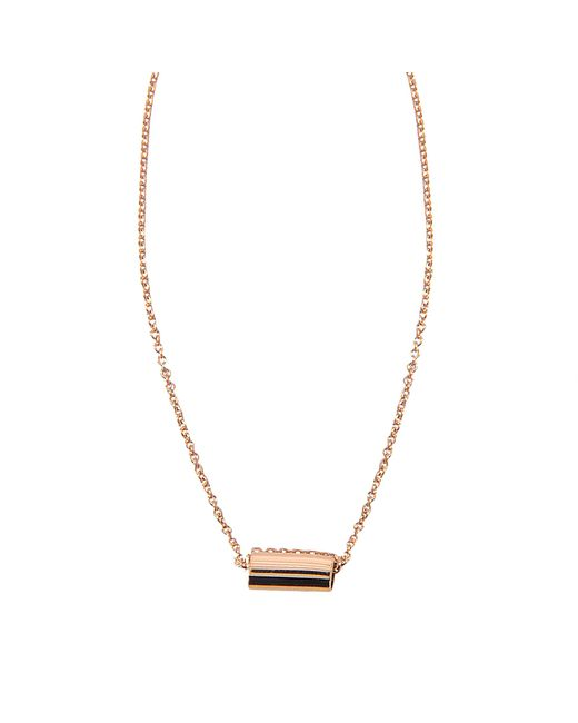 Ginette NY | Metallic Mini Straw On Chain Necklace | Lyst