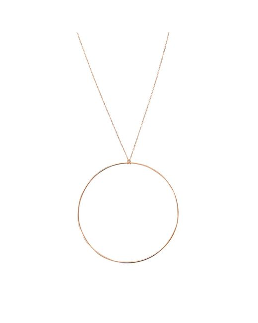 Ginette NY | Metallic Jumbo Circle Necklace | Lyst