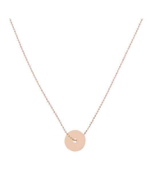 Ginette NY | Metallic Inside Out Disc On Chain Necklace | Lyst