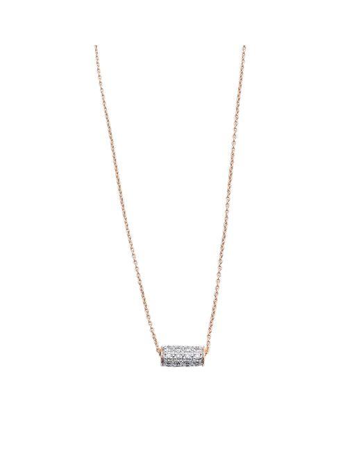 Ginette NY | Metallic Mini Straw Diamond Necklace | Lyst