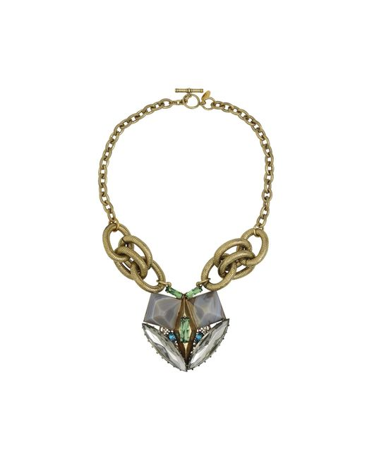 Anton Heunis | Multicolor Crystal And Agate Necklace | Lyst
