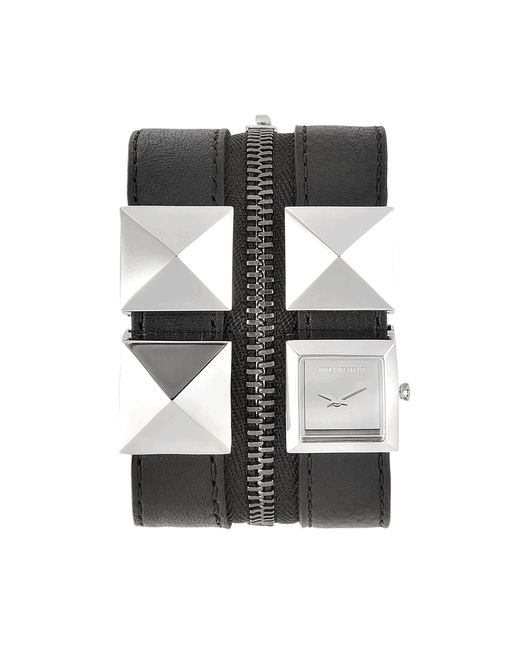 Karl Lagerfeld | Black Kl2003 Karl Zip Watch | Lyst