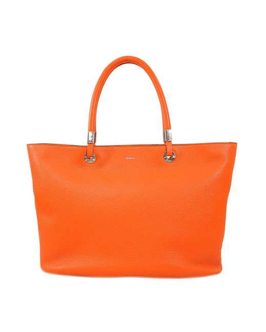 Lancel | Orange Flore East West Tote | Lyst