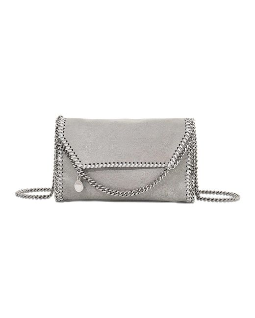 Stella McCartney | Gray Falabella Crossbody Bag | Lyst