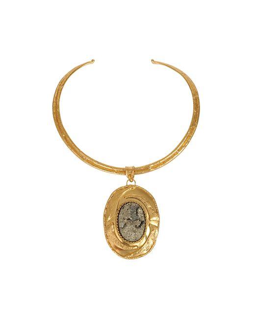 Sylvia Toledano | Metallic Pyrite Necklace | Lyst