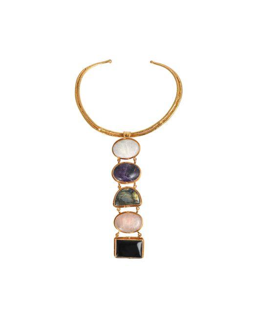 Sylvia Toledano | Metallic 5 Stones Byzance Necklace | Lyst