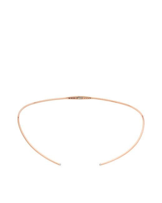 Vanrycke | Pink Massai Torc Necklace In Gold And Diamonds | Lyst