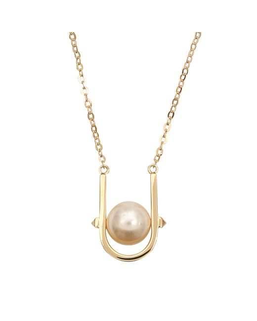 Valentino | Metallic Pearl Necklace | Lyst