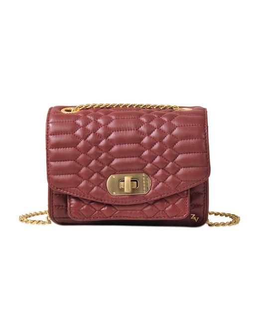 Zadig & Voltaire | Red Xs Skinny Love Scales Bag | Lyst