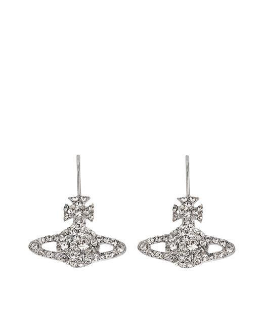 Vivienne Westwood   White Grace Bas Relief Earrings   Lyst