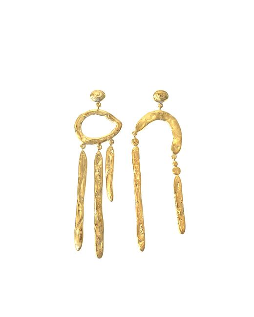 Aurelie Bidermann | Metallic Melina Pendant Earrings | Lyst
