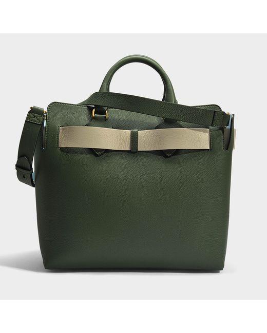 Belt Bag Medium in Clementine Marais Leather Burberry Hj89g