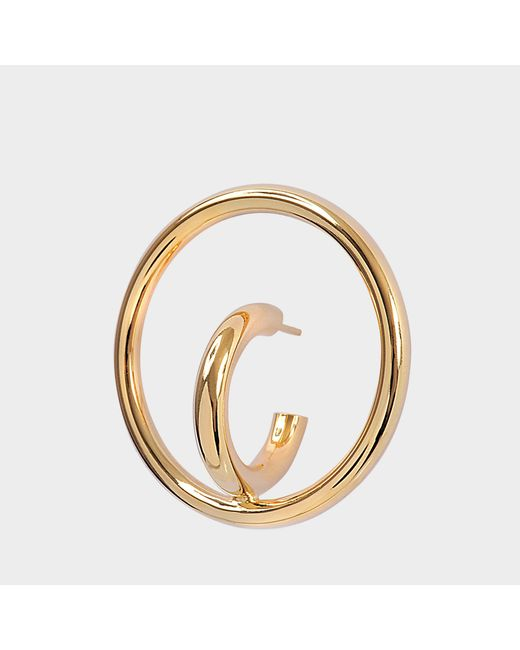 Charlotte Chesnais - Multicolor Saturn Blow L Mono Earring In Yellow Vermeil - Lyst