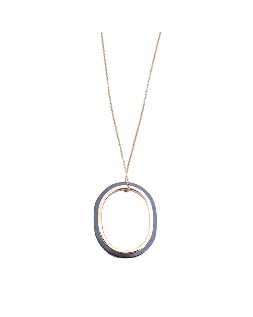 Ginette NY | Blue Ceramic Tv Necklace | Lyst