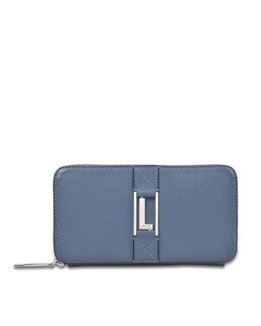 Lancel | Blue Max Continental Zipped Wallet | Lyst