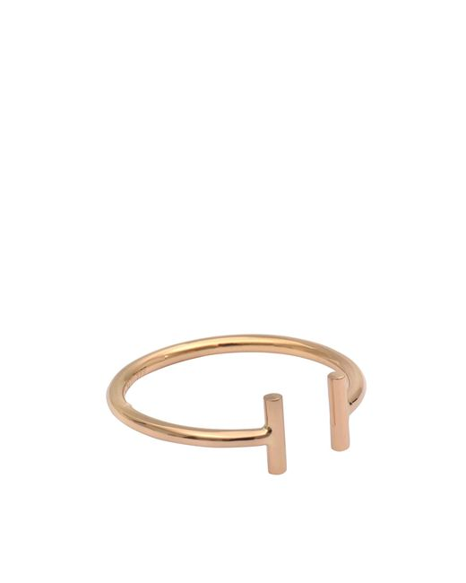 Ginette NY | Metallic Gold Strip Open Ring | Lyst