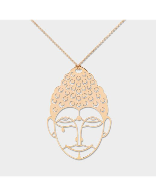 Ginette NY - Green Medium Buddah Necklace - Lyst