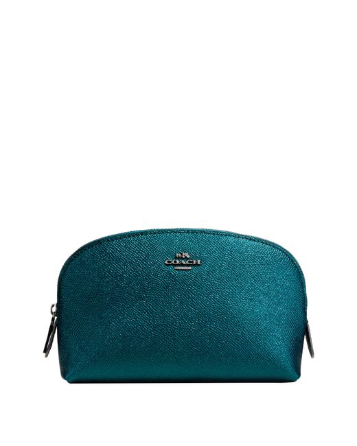 COACH - Green Cosmetic Case 17 - Lyst