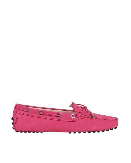 Tod's | Pink Heaven Driving Loafers | Lyst