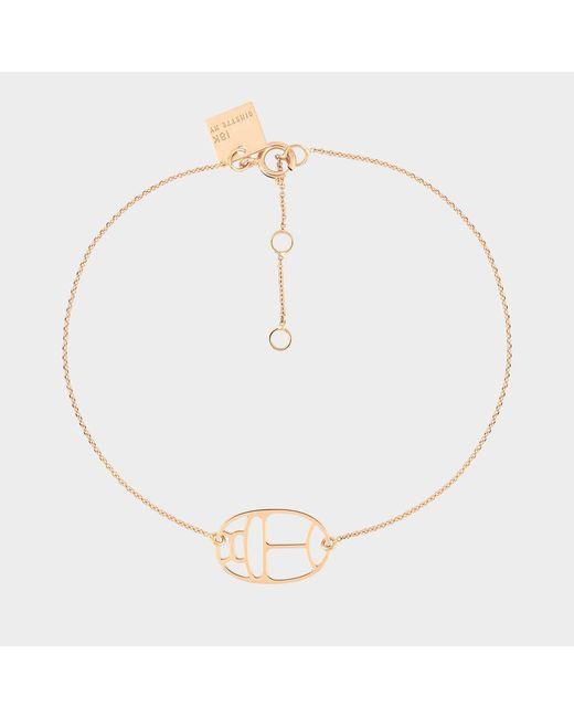 Ginette NY - Metallic Wish Bracelet - Lyst