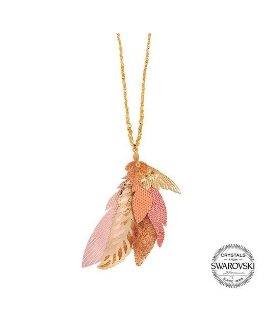 Gas Bijoux | Metallic Exclusive L'iroquoise Necklace With Swarovski Crystals | Lyst